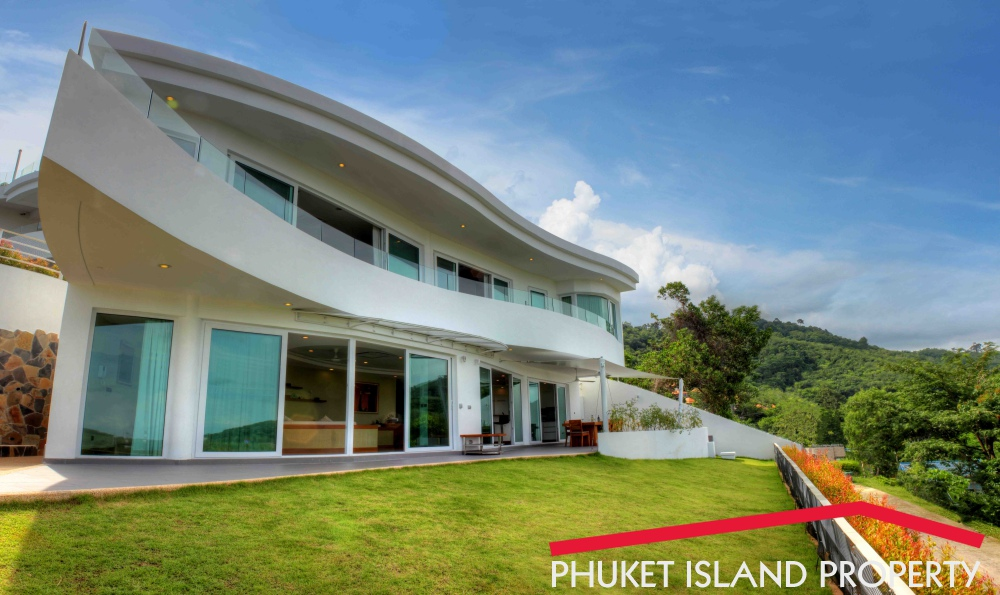 6 Bedrooms Seaview Luxury Villa For Sale Chalong