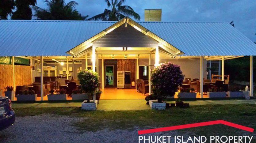 restaurant for sale phuket