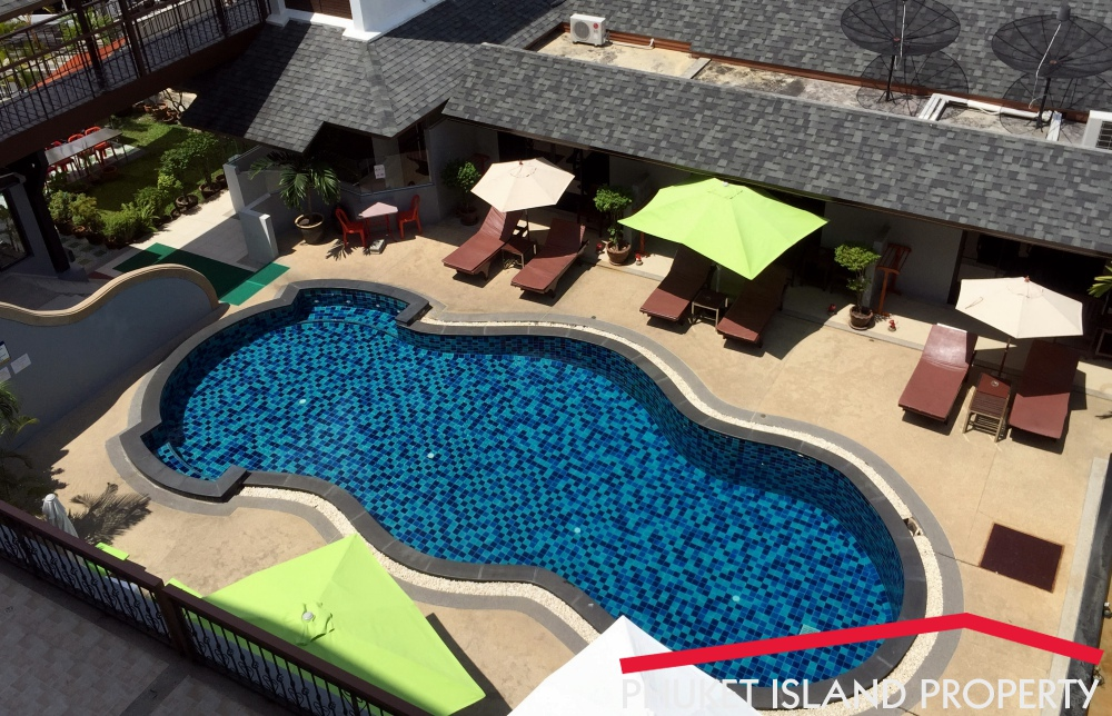 44 Rooms Hotel Swimming Pool Restaurant For Lease Patong Phuketphuket Island Property