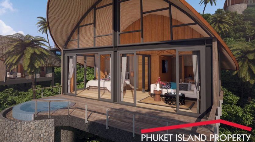 phuket sea view cottages for sale