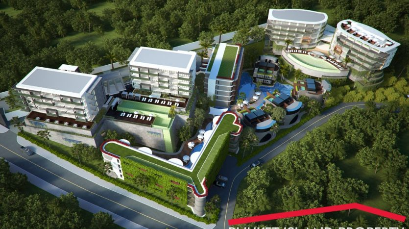 2 bedrooms seaview freehold apartment for sale tritrang beach phuket