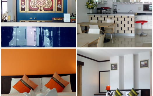 25 Rooms Hotel with Restaurant for Sale Patong Phuket