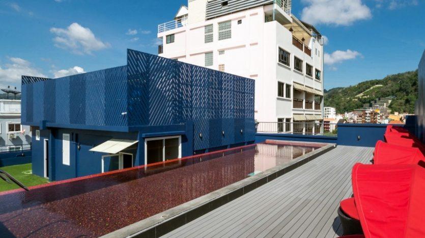 phuket hotel swimming pool for lease