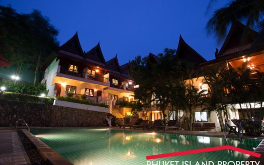 16 Rooms Boutique Hotel for Sale Kata beach Phuket